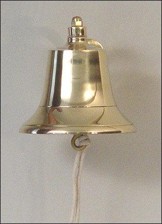 6'' Brass Fog Bell