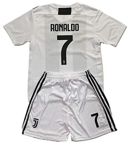 61c07ff54 Gadzhinski2017 Ronaldo  7 Juventus 2018-2019 Kids Youths Home Soccer Jersey    Shorts (11-13 Years Old)