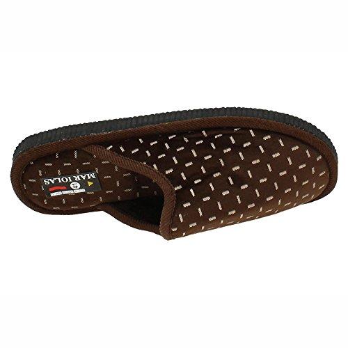 Herren Braun Made In Spain Hausschuhe FwwEgIqx