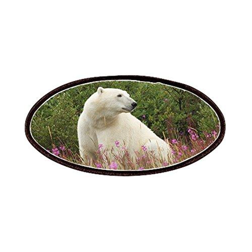 [Patch of Polar Bear on Canadian Tundra] (North Pole Ice Cream)