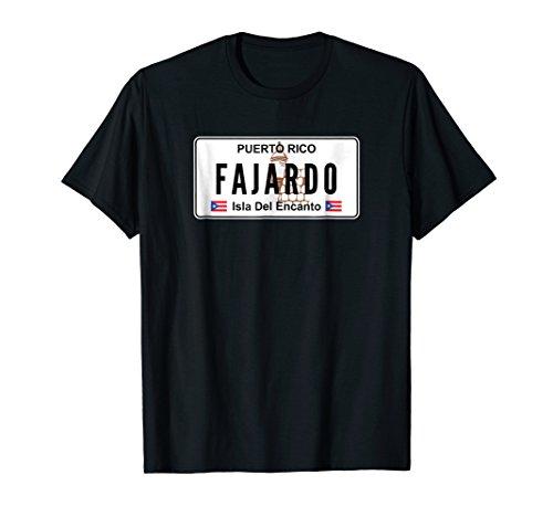 FAJARDO - PUERTO RICO PRIDE PR LICENSE PLATE T-SHIRT