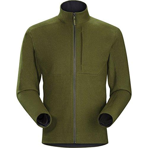 Process Bonded Fleece - Arcteryx Diplomat Jacket - Men's Dark Moss Medium