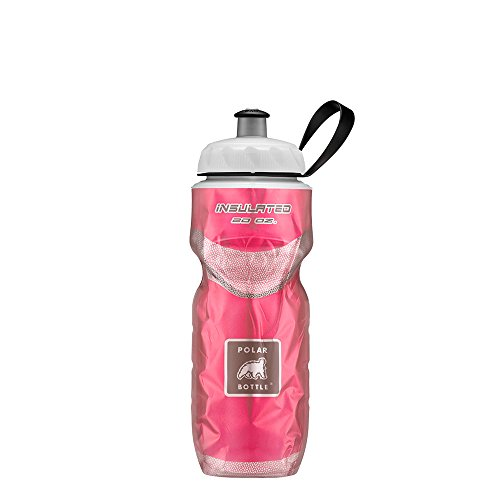 Polar Bottle Insulated Water Bottle (20-Ounce) (Red <3)