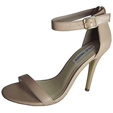 Steve Madden Womens Realove Dress Sandal Shoe, Blush, US 10
