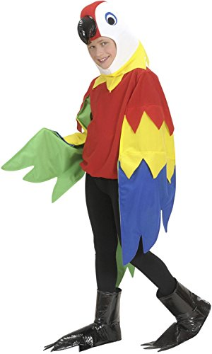 [Deluxe Parrot Costume - One Size - Chest Size 42-48] (Deluxe Parrot Costumes)