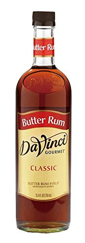 DaVinci Gourmet Classic Flavored Syrups Butter Rum 750 - Sauce Rum