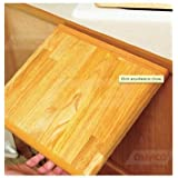 Oak Accents RV Folding Countertop Extension Foldable Cutting Boad