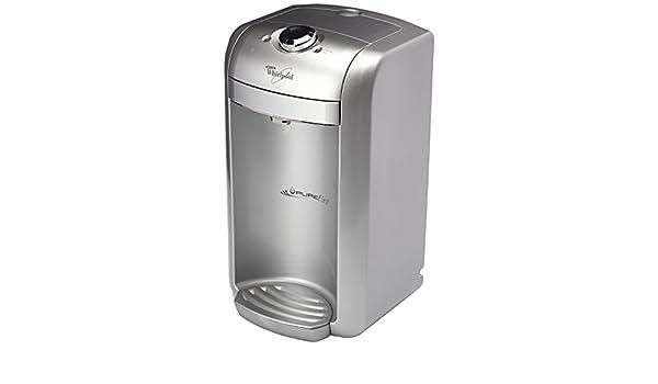 Whirlpool PUF102 Pure First dispensador de agua filtrada conectar a una sobre los para grifo de agua plateado: Amazon.es: Hogar