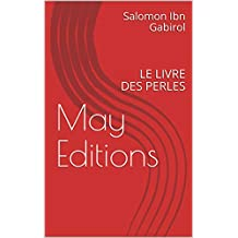 May Editions: LE LIVRE DES PERLES (French Edition)