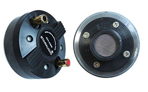 STARAUDIO SDV-25MM 25MM 8Ohms Titanium Compression Screw-on Horn Speaker Replacement Driver Tweeter