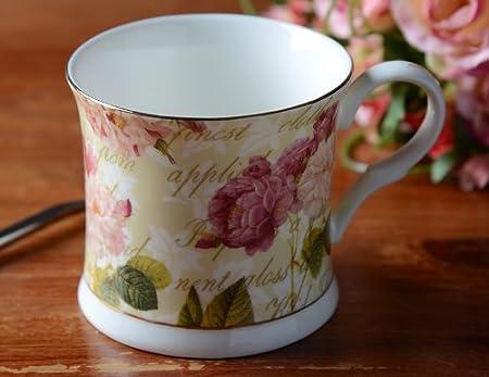 Fine bone china mug Portland Queen  Creative Tops Palace Mugs pink roses