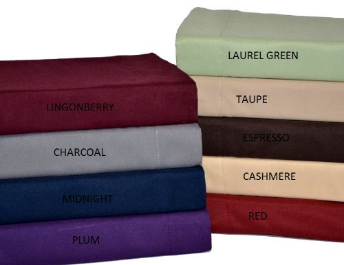 Perry Ellis Twin Extra Long Microfiber Sheet Set, Midnight