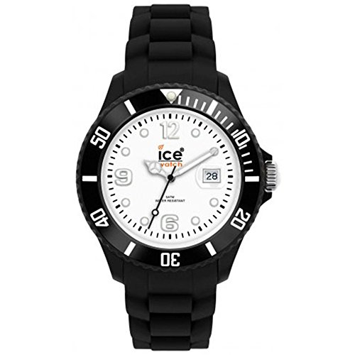 Ice-Watch Ice-White - Black-white Small Women's watch #SI.BW.S.S.10
