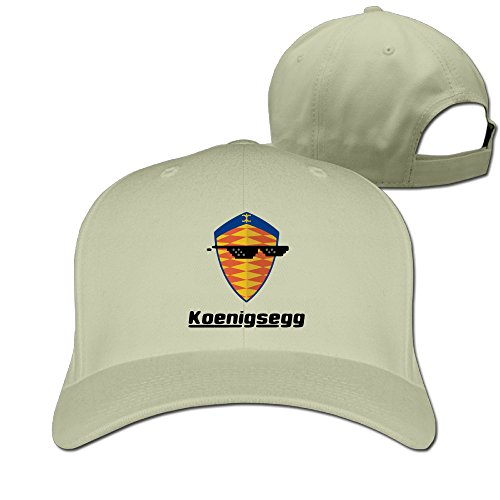 Logon 8 Geek Sunglass With Koenigsegg Car Logo Cap Hat One Size Natural You - Reeves Keanu Sunglasses