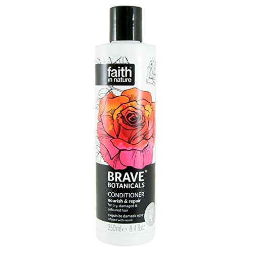 Brave Botanicals Rose & Neroli Nourish & Repair Conditioner 250ml (Pack of 6) - (Faith In Nature) 勇敢な植物は、ローズ&ネロリは養う&リペアコンディショナー250Ml (x6) [並行輸入品] B074PSMGJF
