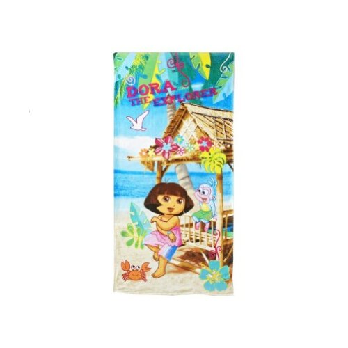 - Dora the Explorer & Boots The Monkey Beach Towel Bath Towel 28