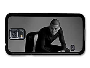 Chris Brown Black & White Portrait case for Samsung Galaxy S5 A5213 by mcsharks