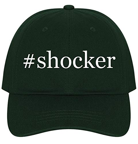 The Town Butler #Shocker - A Nice Comfortable Adjustable Hashtag Dad Hat Cap, Forest