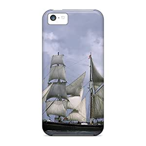 Durable Sailing The Seas Back Case/cover For Iphone 5c