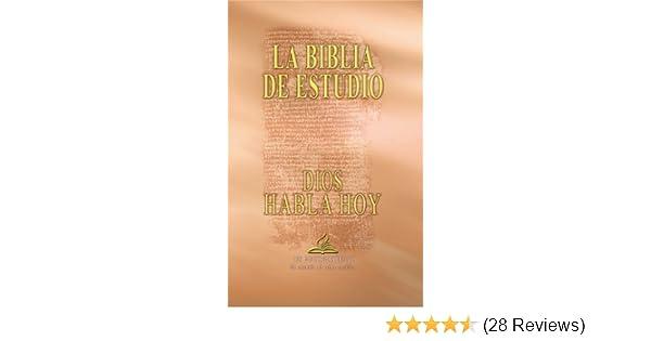Dios habla hoy con deuterocanónicos, edición de estudio (Spanish Edition)