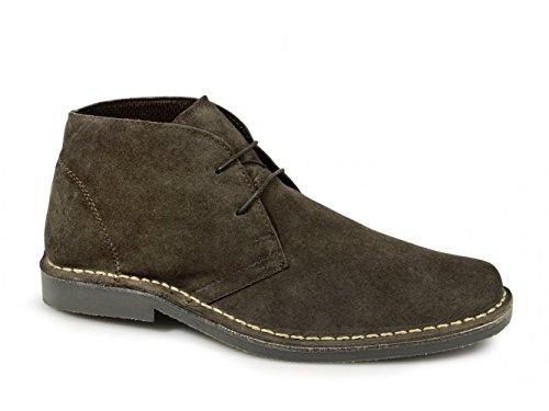 Eye Square Dark Mens Toe Roamers 2 Desert Brown Boots TvwptSaqx