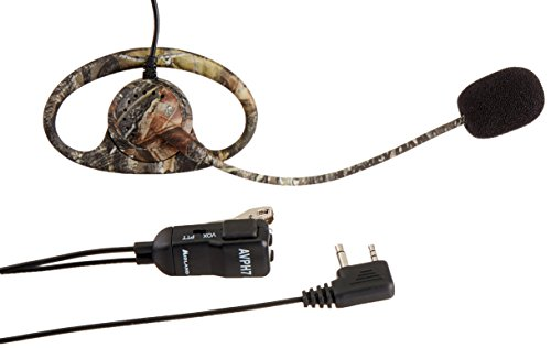 (Midland AVPH7 Outfitters GMRS Headset with Microphone and PTT Button (Camo) (Pair))