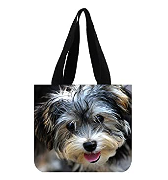 Amazoncom Yorkie Bichon Mix Puppies Custom Art Printing Canvas