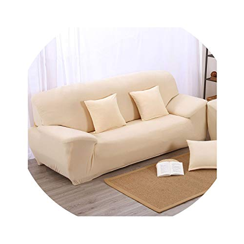 No Buy No Bye Sofa Cover Big Elasticity 100% Polyester Spandex Stretch Couch Cover Loveseat Sofa Towel Furniture Cover Machine Wash S-08,07,Two Seat