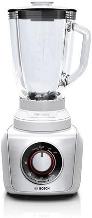 Bosch SilentMixx - Licuadora (1,5 L, Batidora de vaso, Plata, 0,9 ...