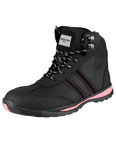 S1P Boot Black Footsure 08 Ladies twxZxvX0