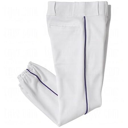 White, Grey Pants. Black, Navy, Royal, Red Piping YOUTH Side Seam Piping Baseball//Softball Pants
