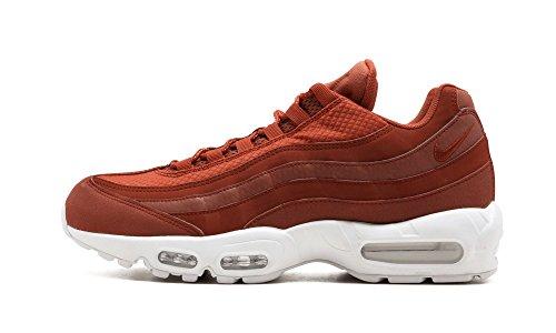 Nike Air Max 95 Premium SE Mens Running Trainers 924478 Sneakers Shoes (UK 8 US 9 EU 42.5, Dusty Peach White 200)