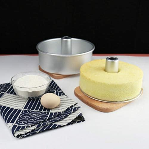 シフォンケーキティン・パンケーキ、取り外し可能な底チーズケーキベーキングパンケーキツールベーキングパンで6