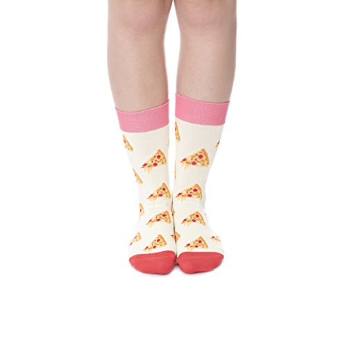 yitu-novelty-women-and-men-cotton-socks-pizzas-ecru-yellow