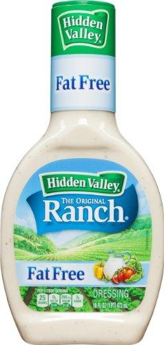 (Hidden Valley Original Ranch Fat Free Dressing, 16 Oz (Pack of 3))