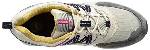 2 e Sneaker Nylon Pelle Fusion e Karhu Grigio 0 Multicolor Bianchi Suede in qzwE0Rf