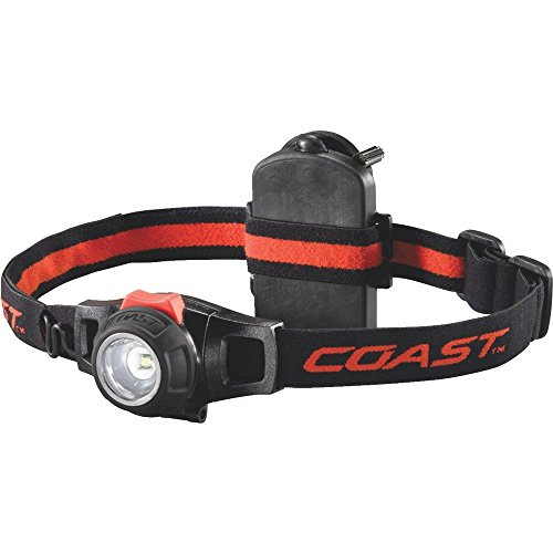 COAST HL7 285 Lumens Pure Beam Twist Focus Headlamp