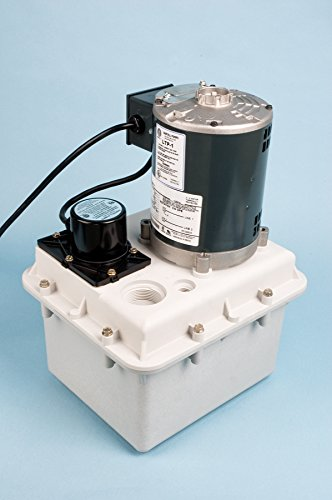 LTP-1 HARTELL LAUNDRY TRAY PUMP W/2 GALLON RESERVOIR 115 VOLT 1/4 HP 1-1/2 INCH INLET 1 INCH OUTLET by Hartell