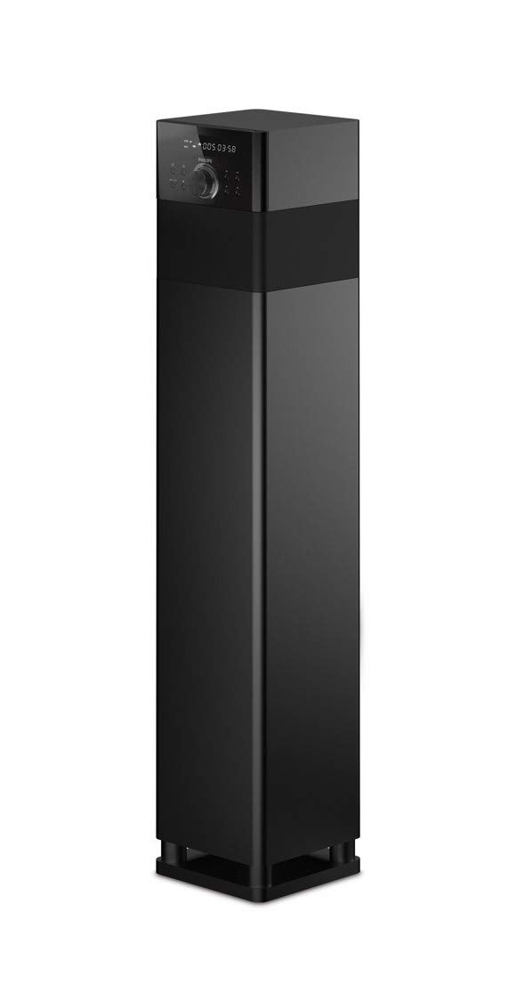Philips SPA9075B/94 Single Tower Speaker (Black)