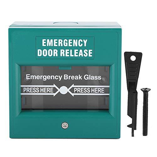 - Emergency Exit Door Release Fire Alarm Button Home Security Door Break Switch with 1 Emergency Button 1 Installation Kit