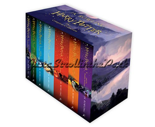 Harry Potter: The Complete Series Boxed Set Collection 2014 UK Edition - NEW! by Salman Store (Image #1)