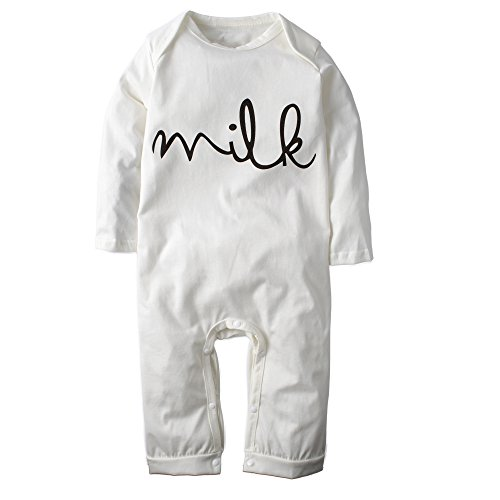 Big Elephant Baby Boys' One Piece Smile Long Sleeve Romper Pajama Outfit H42 (Girls Footed Pajamas Size 10 12)