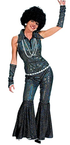 Boogie Queen Disco Costumes (Boogie Queen Disco Costume - Womens Large 14-16)