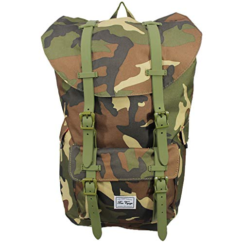 Machu Mountain Urban Series - Laptop Backpack, College Backpack, Perfect for School and Travel. Fits 13 Inch to 17 Inch Laptop and Tablets (Camo)