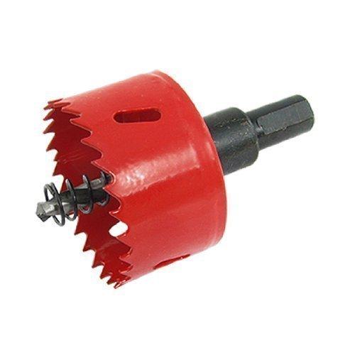 53mm Durchmesser rotes Sechskantschaft Holz Lochs?ge Schneidwerkzeug