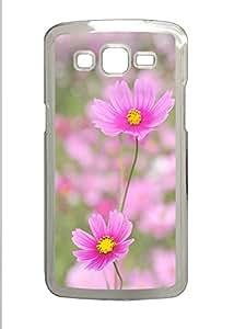 Samsung 2 7106 Case Pink Cosmos PC Samsung 2 7106 Case Cover Transparent