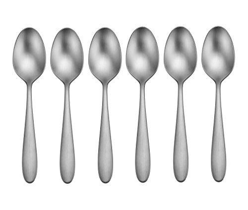 (Oneida Vale Set of 6 Teaspoons,Silver)