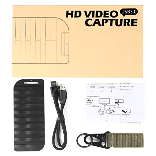 Mirabox Capture Card, 4K 30FPS,HD 1080P 60FPS,USB3 0 HDMI Game Video  Capture Card with Mic Input and HDMI Passthrough - Compatible with Windows,