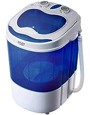 Adler AD8051 wasmachine, wit/blauw
