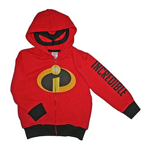 Disney The Incredibles Little Boys Toddler Character Hoodie
